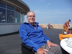 Mike at the Redcar Beacon