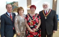 Dave, Margaret, Olwyn, Brian